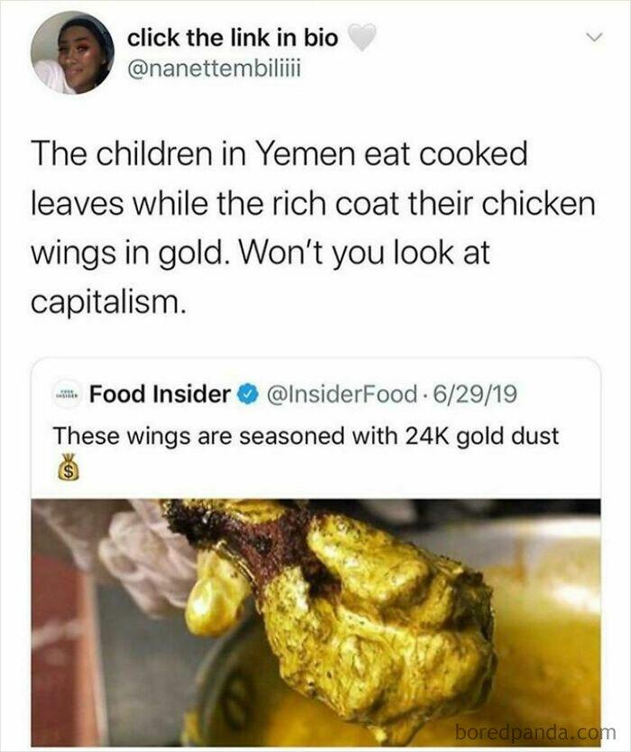 Mmm Gold Food