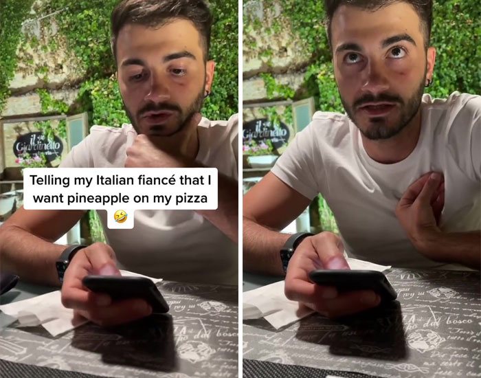 Telling My Italian Fiancé That I Want Pineapple On My Pizza