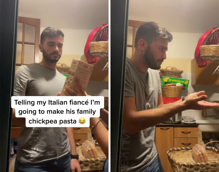 Telling My Italian Fiancé I'm Going To Make His Family Chickpea Pasta