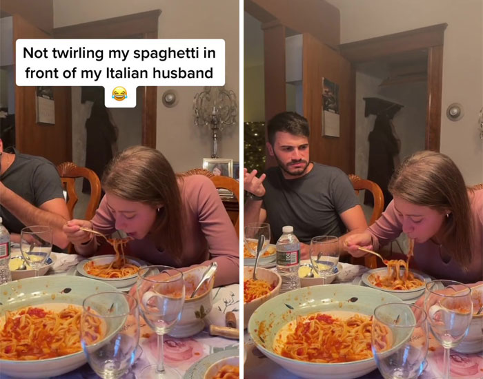 Not Twirling My Spaghetti In Front Of My Italian Husband