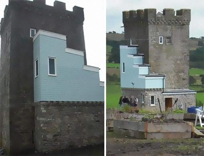 Renovations To A 500 Year Old Castle