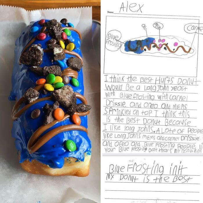 Local Donut Shop Made A Child's Perfect Donut