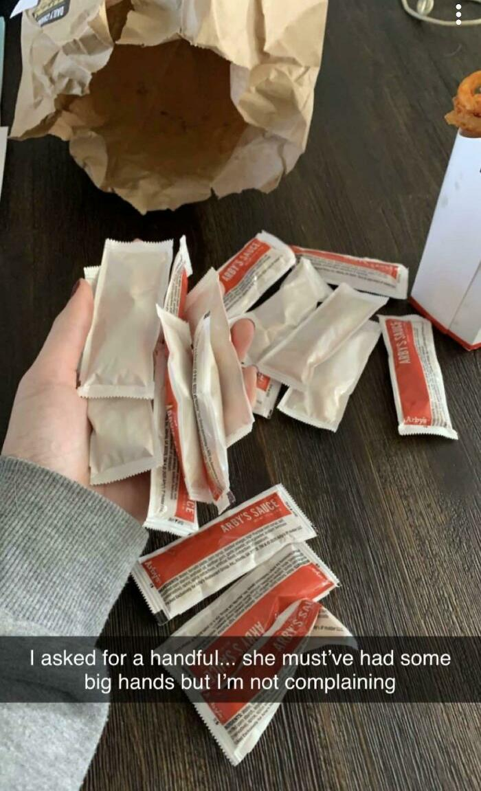 Arby's Workers Understand How Amazing Their Sauce Is