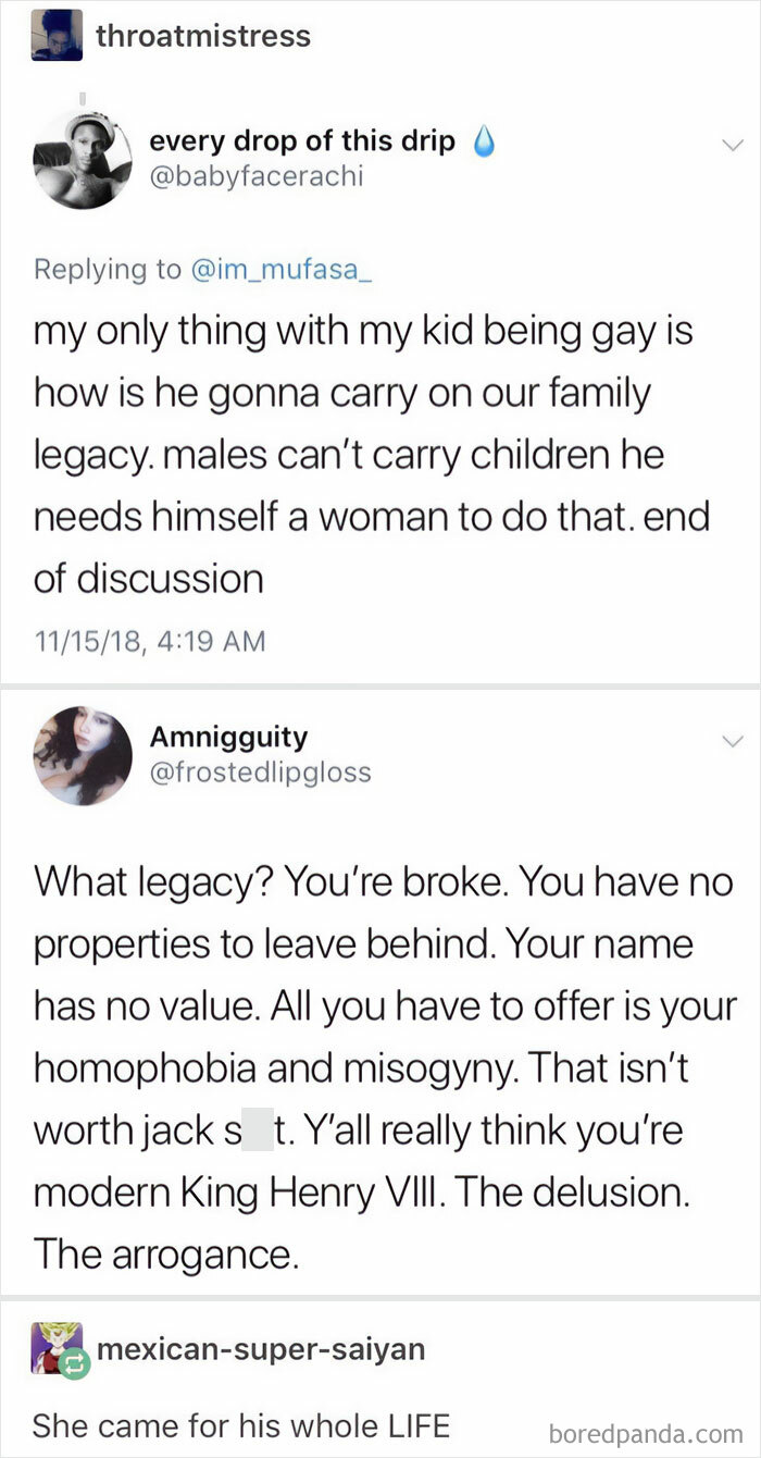Homophobe Tries To Argue Against Homosexuality And Gets Eviscerated
