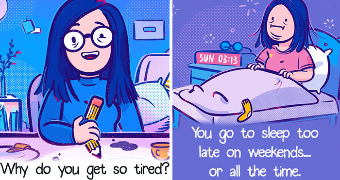 I Create Comics That Give Advice About Simple Life Situations