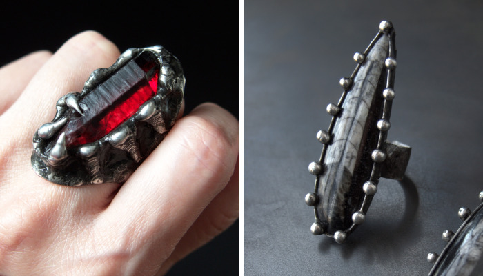 My Brutal And Wild Rings For Modern Witches