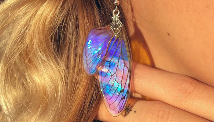 I Create Magical Pieces With Real Insect Wings To Give Them New Life