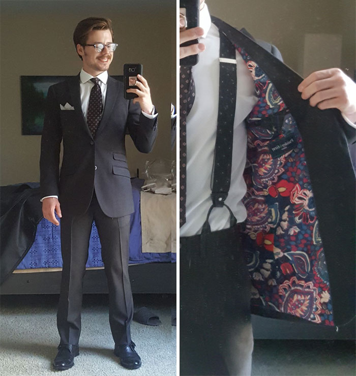 (Fo) I Alter Weddings Dresses For A Living, But Suit Alterations Are My True Passion. Here's My Last Suit I Did For Myself