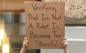 Dude Keeps Protesting Annoying Everyday Things With Funny Signs (35 New Pics)