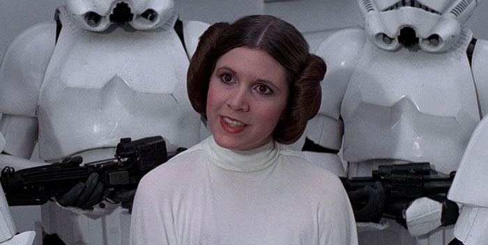 Before Acting In Star Wars: Episode Iv - A New Hope (1977), Carrie Fisher Had Never Seen A Single Star Wars Movie