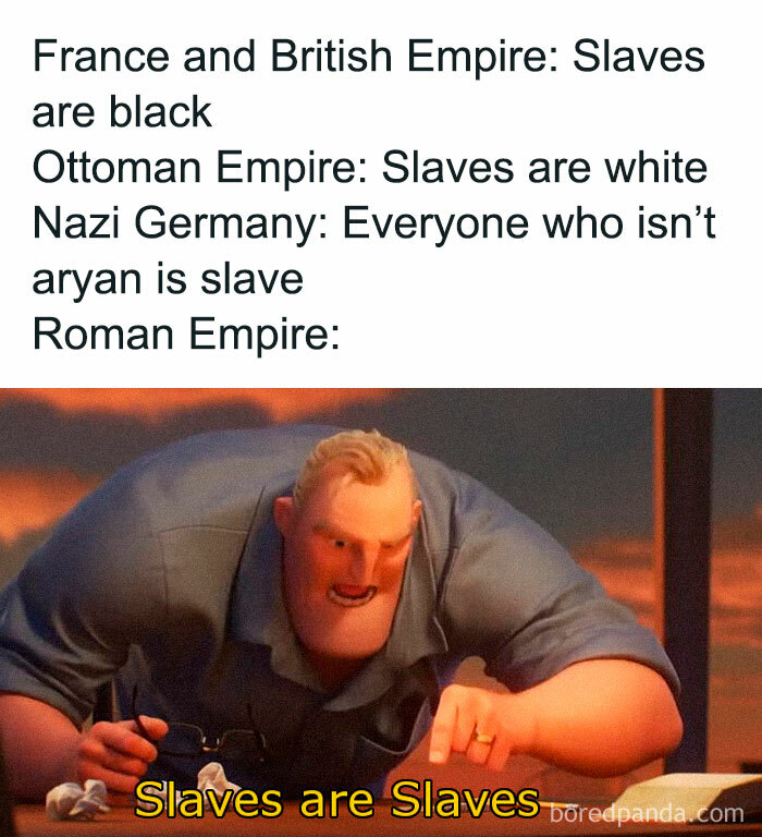 Enslaving People Because Of Color Skin? Absolutely Barbaric!