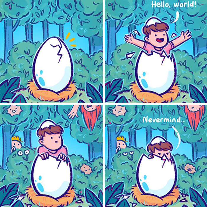 I Created These Silly Comics With Unexpected Endings (36 Pics)
