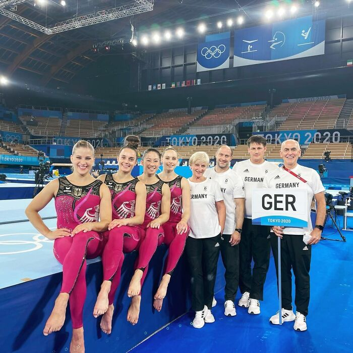German Gymnasts Are Taking A Stand Against Sexualization By Wearing Full-Body Suits Instead Of Their Former Revealing Outfits