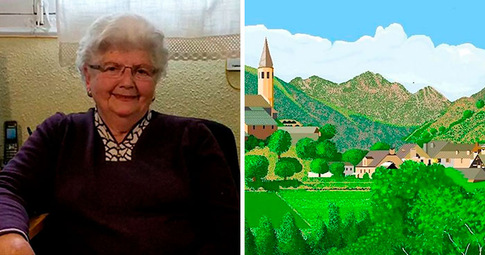 Esta abuela española de 91 años usa Microsoft Paint de una forma que sorprendería incluso a sus desarrolladores (nuevas imágenes)