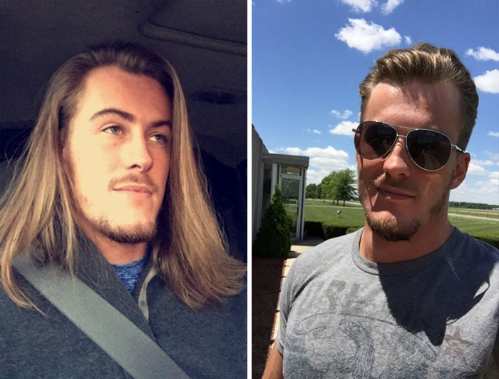 I Listened To None Of You, Cut 13 Years Of Long Hair Off Yesterday