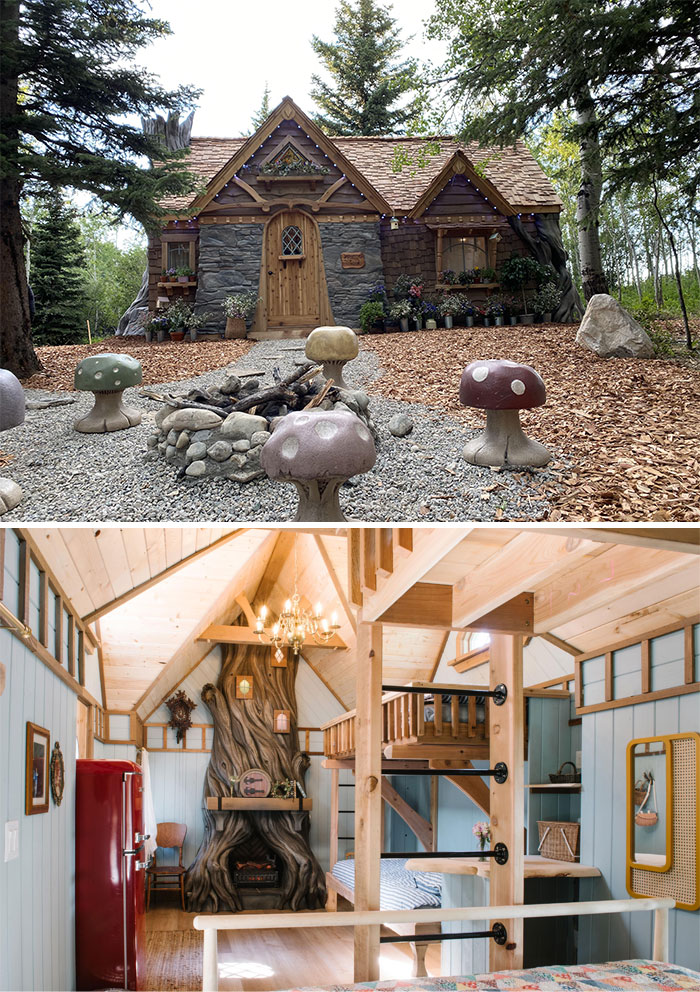 I've Wanted To Build A Cottage In The Woods For Years, And Today My Dream Was Finally Met
