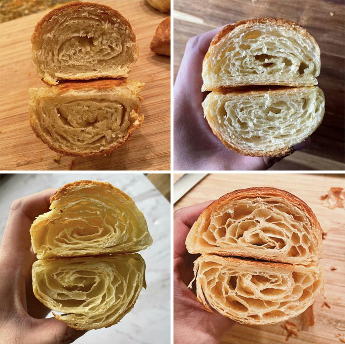 My Croissant Journey Over The Past Month!