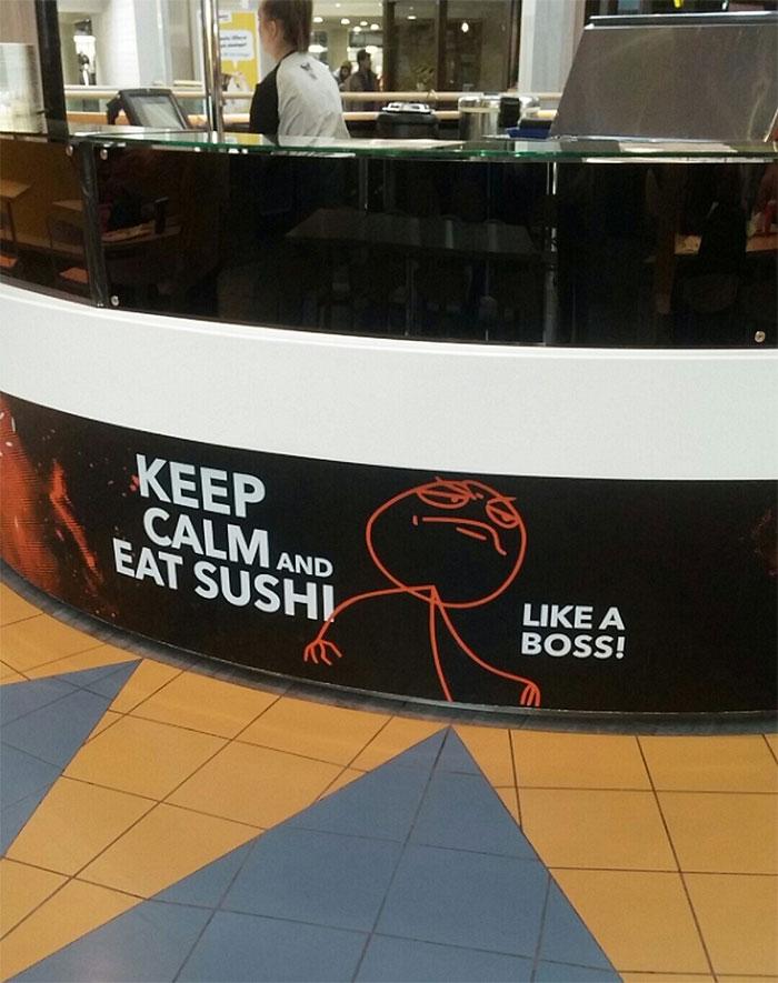 New Sushi Bar Opened Up