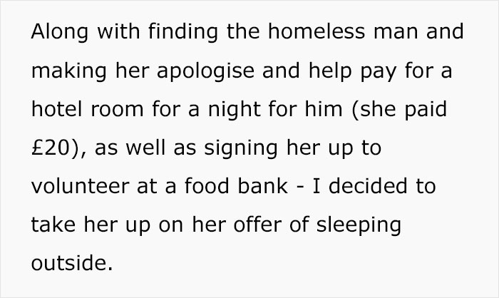 Mom Asks If She's Being A Bad Parent For Making Her 14-Year-Old Sleep Outside In Winter After Witnessing Her Yell At A Homeless Man For Nothing