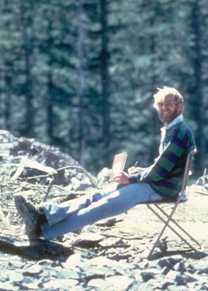 El vulcanólogo estadounidense David A. Johnston