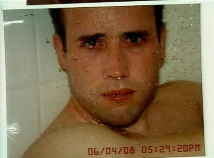 Esta foto de Travis Alexander por Jodi Arias... momentos antes de matarlo. Es inquietante para mí