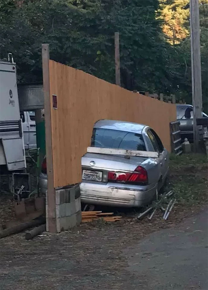 Finished The Fence Boss