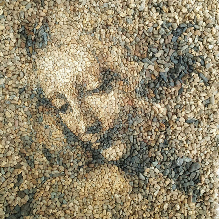 This Artist Creates Intricate Art Using Pebbles (26 Pics)