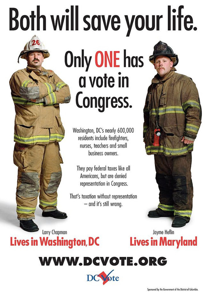 Dc Statehood Poster (2006)
