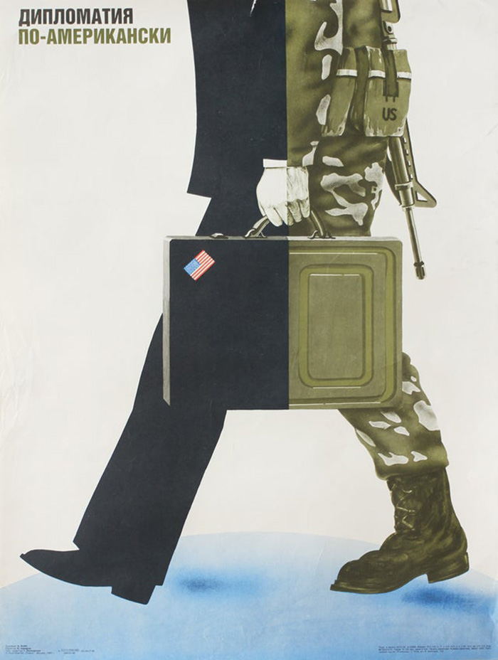 """""""Diplomacy, The American Way"""", Ussr, 1986"""