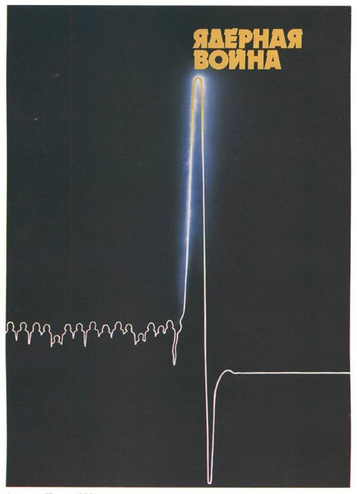 """Nuclear War"", Soviet Union, C. 1980s"