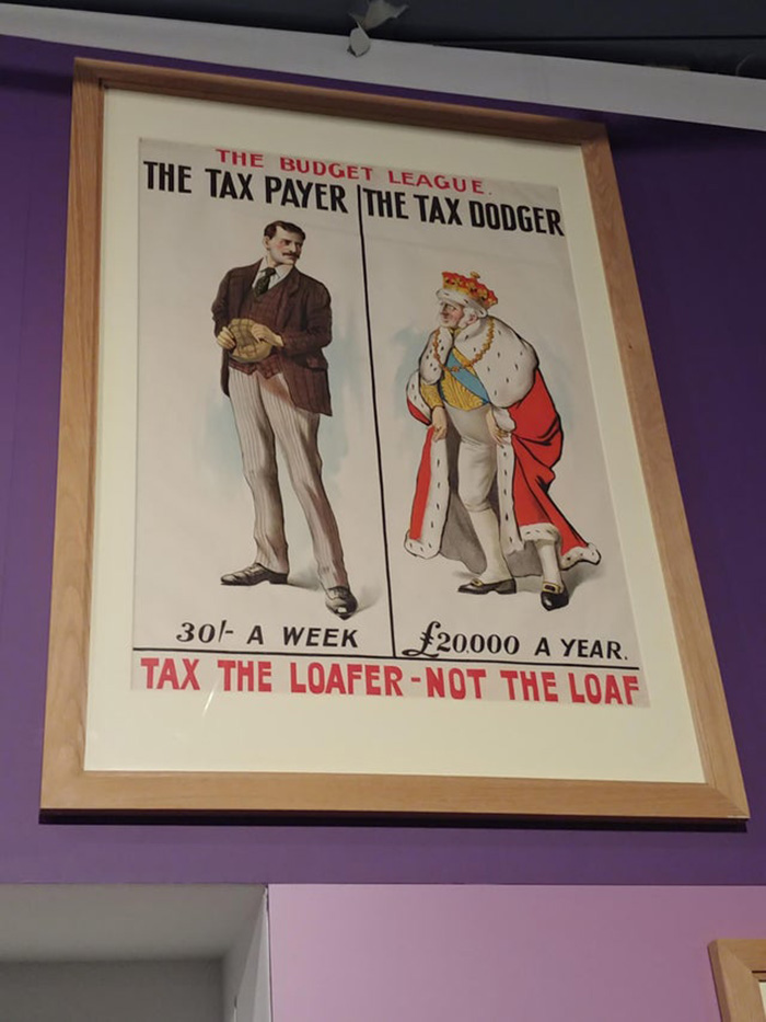 """""""Tax The Loafer - Not The Loaf"""" - Britain, 1920s"""