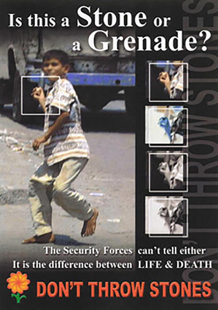 """Don't Throw Stones"", Iraq, 2004"