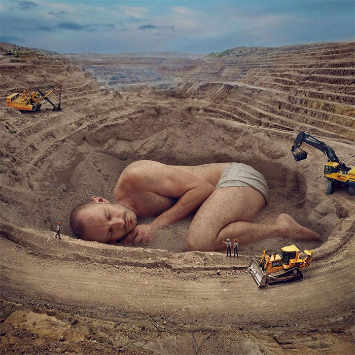 Artist Uses His Photoshop Skills To Create Surreal And Whimsical Edits (30 Pics)