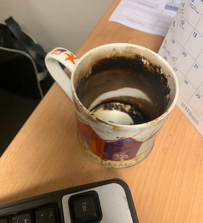 My Coworkers Typhoid Mug