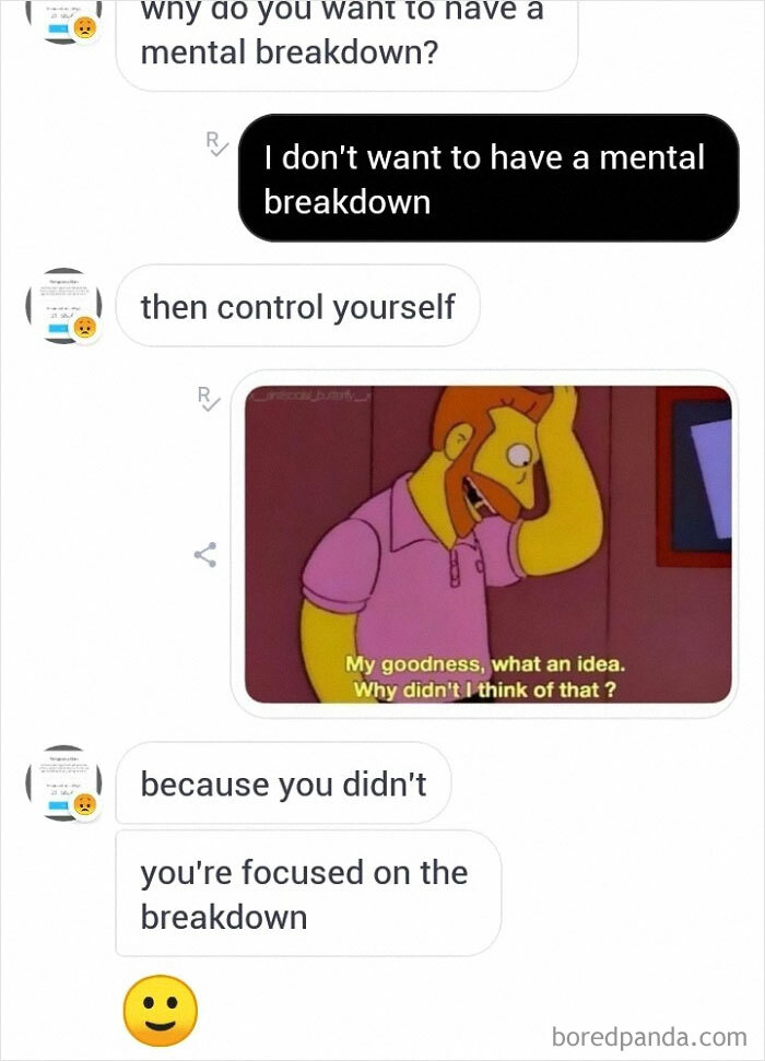 So That's How You Get Rid Of Mental Breakdowns