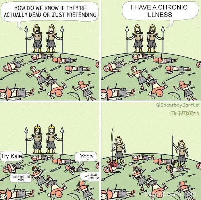 """I Have A Chronic Illness"""
