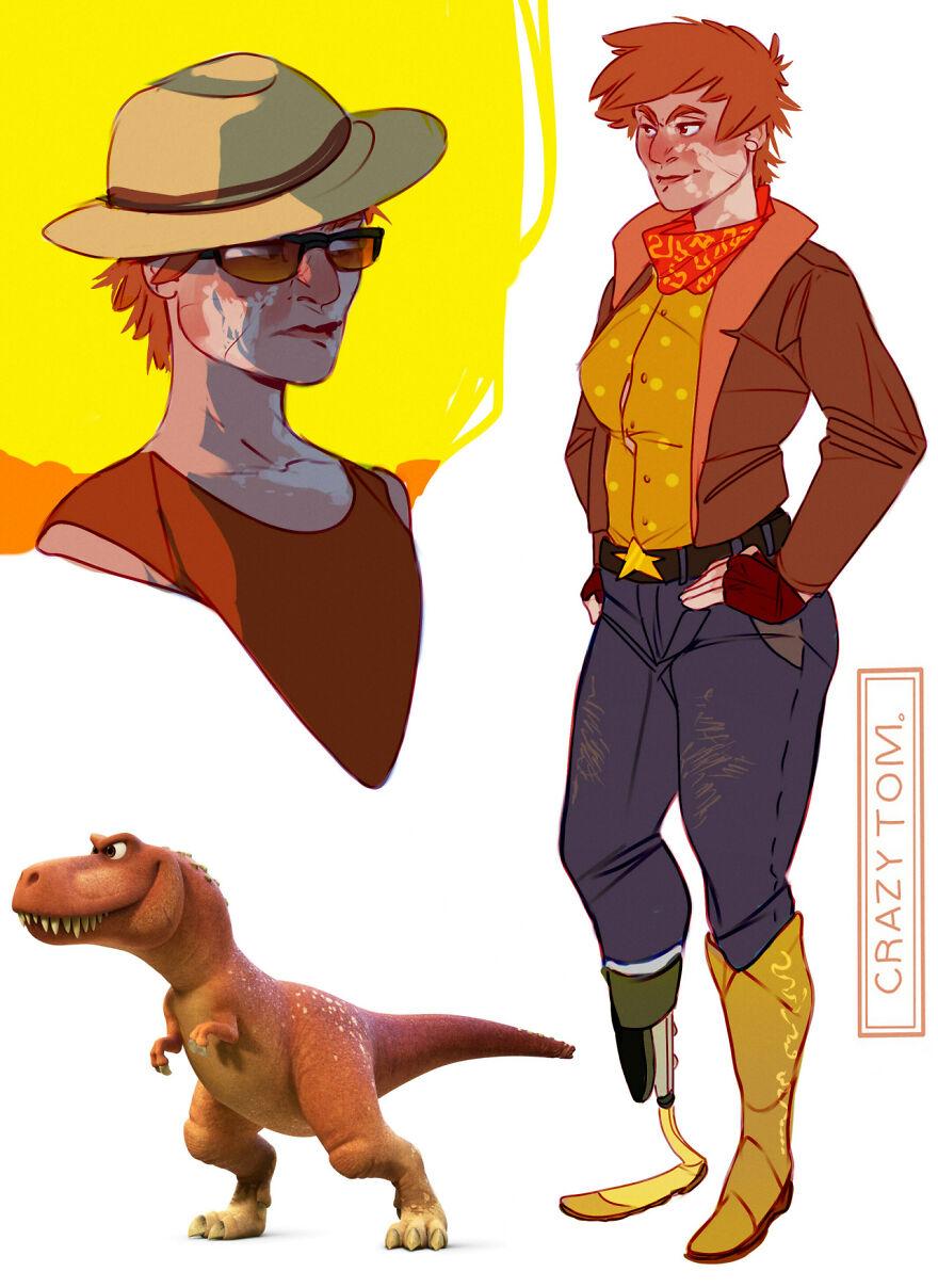 Ramsey from The Good Dinosaur.