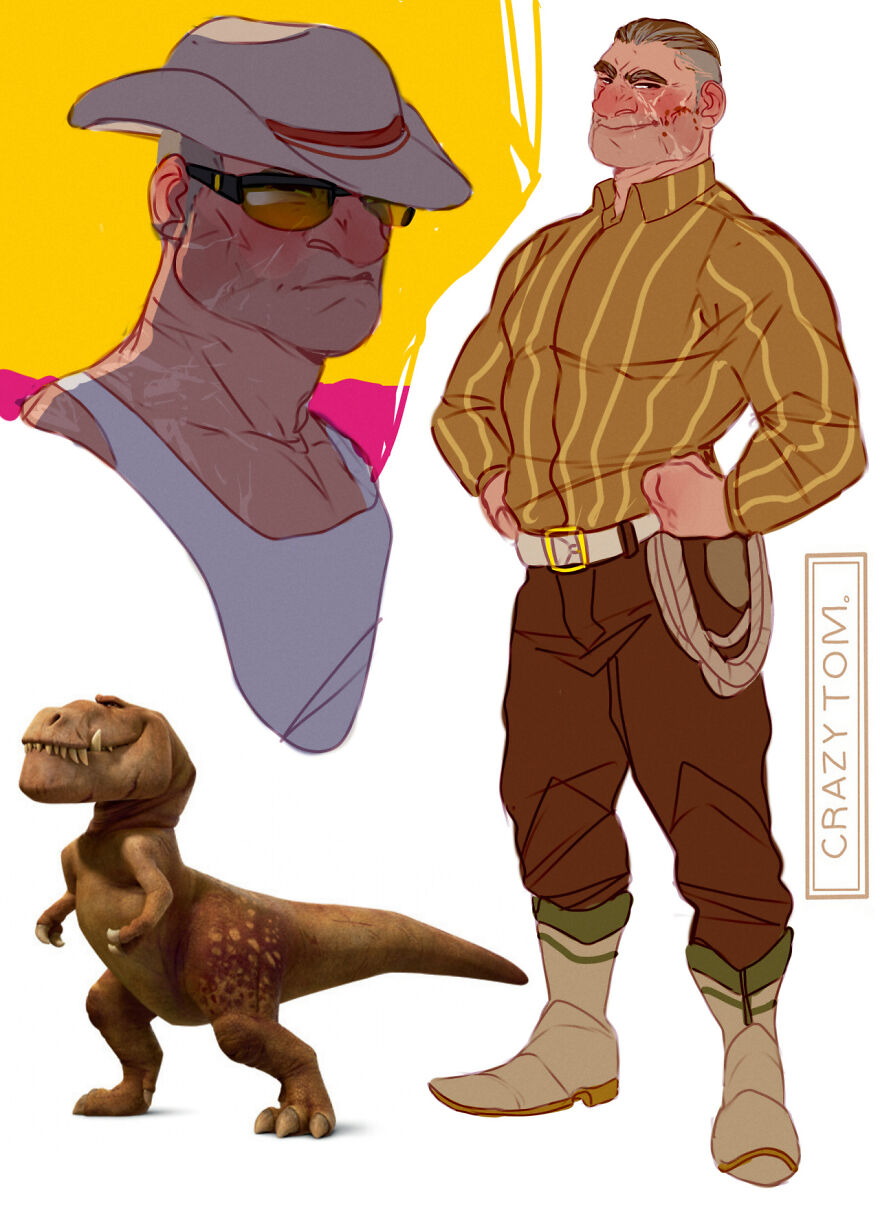 Butch from The Good Dinosaur.