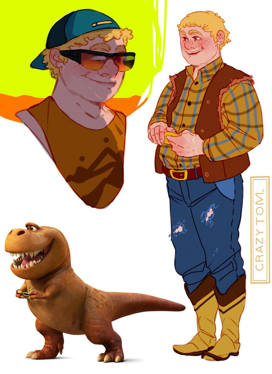 Nash from The Good Dinosaur.