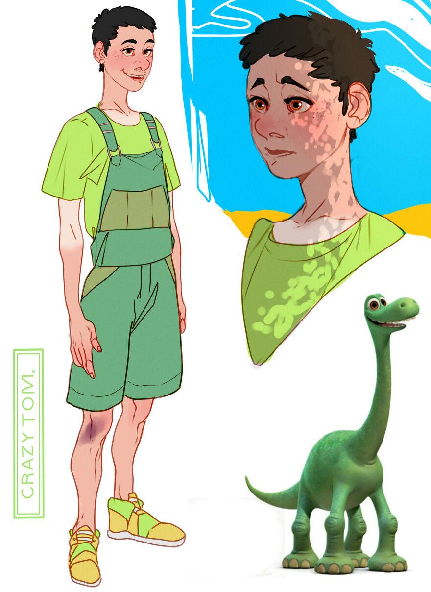 Arlo from The Good Dinosaur.