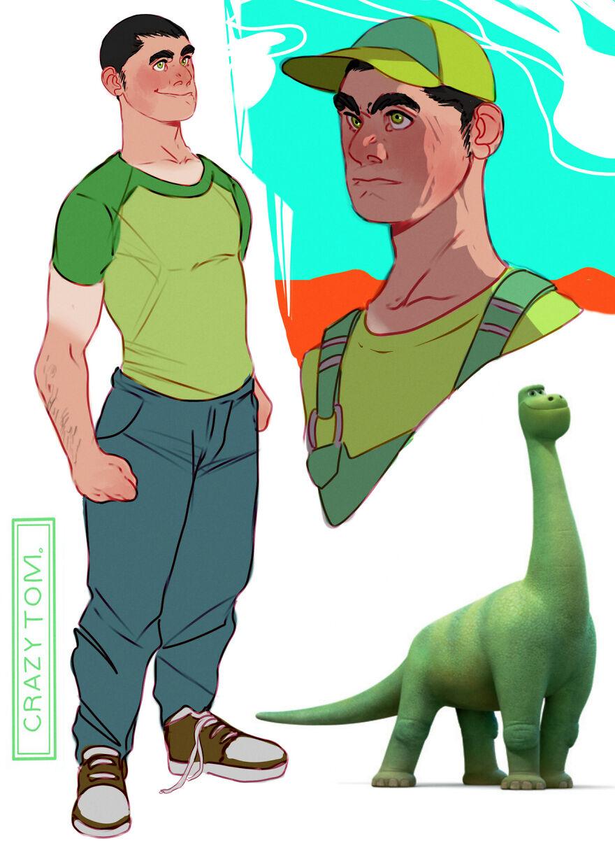 Henry from The Good Dinosaur.
