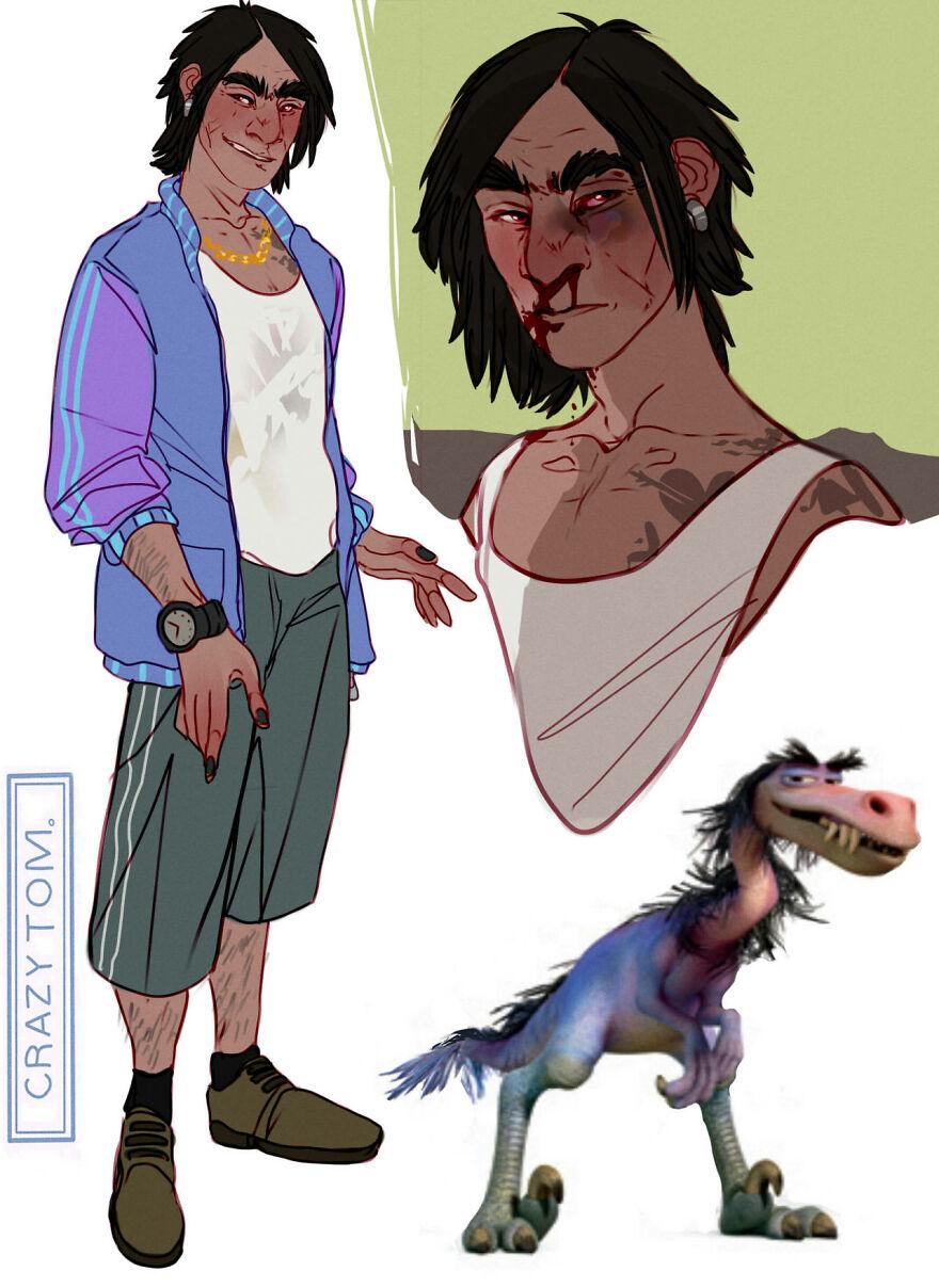 Bubbha from The Good Dinosaur.