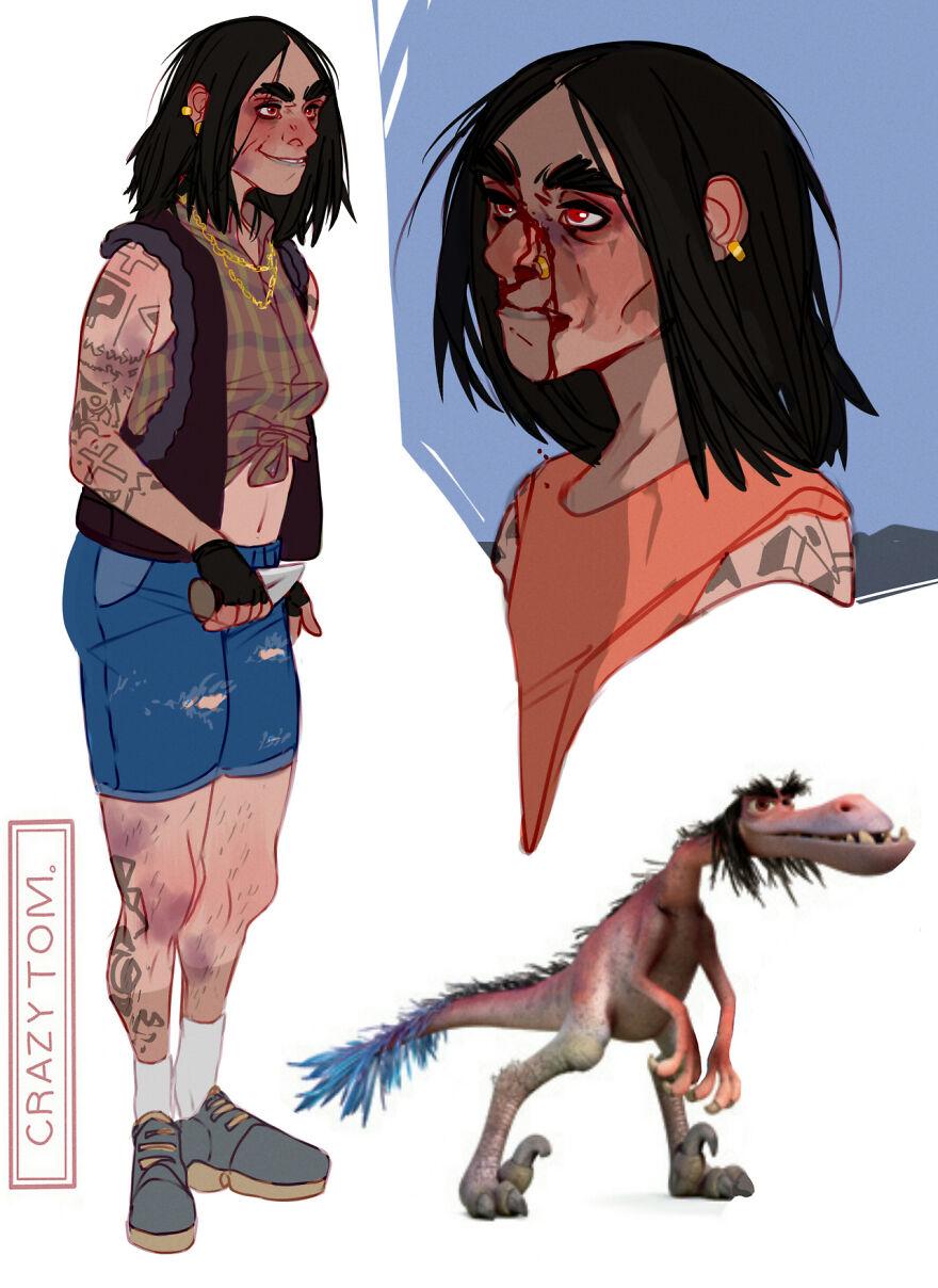 Lurleane from The Good Dinosaur.
