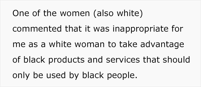 White Woman Is Shamed For 'Cultural Appropriation' For Going To A Salon That Specializes In Black Hair