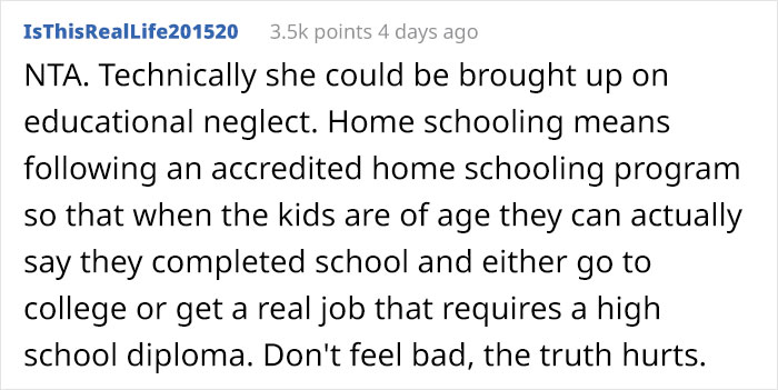 Woman Calls Out Her Sister For Failing At Homeschooling Her Kids, Family Drama Ensues