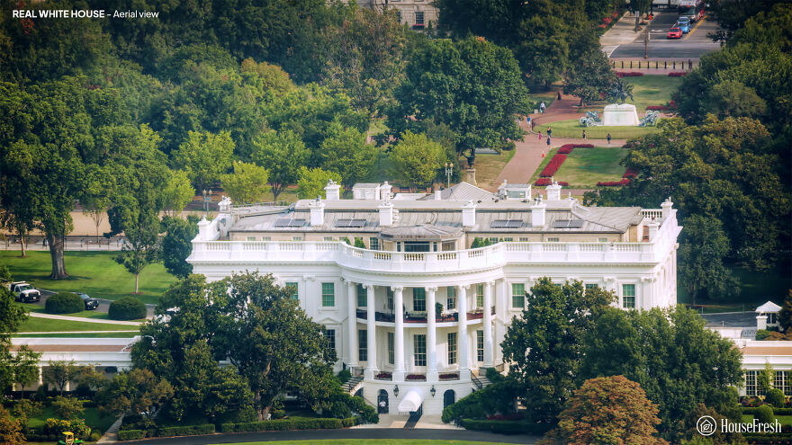 Designers Show How The White House Could Have Looked Different If These 5 Plans Weren't Rejected