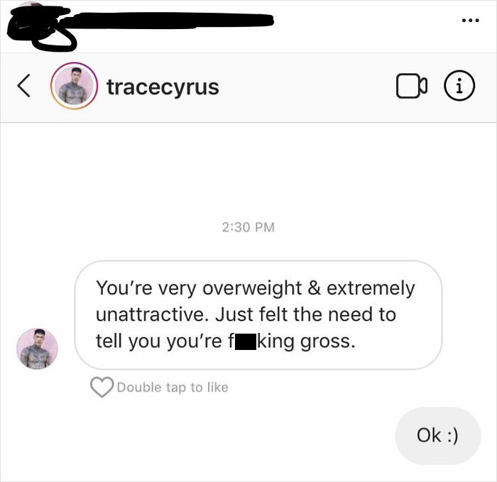 """Miley Cyrus' Brother Dmed Somebody In My Insta Feed Because She Commented """"Gross"""" On A Pic He Posted Of Himself Choking His Fiancé. Not Sure Where To Post This"""