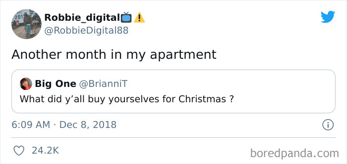 Santa Won't Bring Me Rent Money