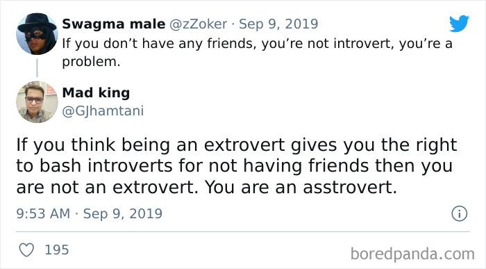 You're An Asstrovert