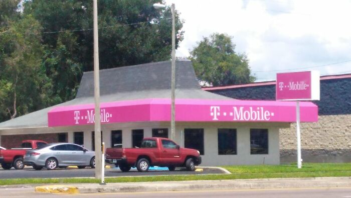 Former Pizza Hut Is Now T-Mobile